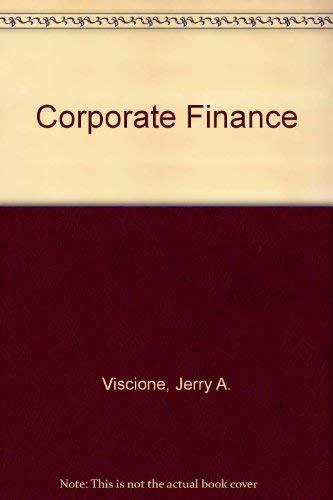 Corporate Finance: Jerry A. Viscione