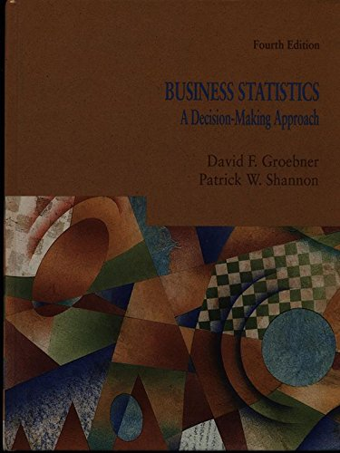 9780675202176: Business Statistics: A Decision Making Approach