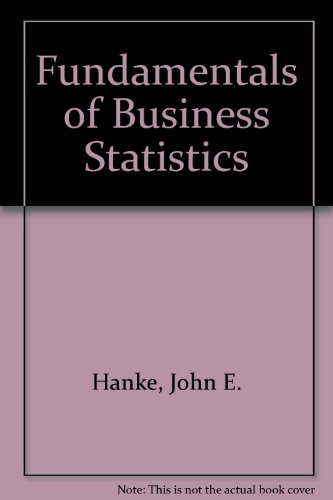 9780675203333: Fundamentals of Business Statistics