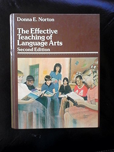 9780675203548: Effective Teaching of Language Arts