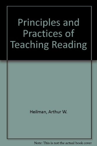 9780675203579: Principles and Practices of Teaching Reading