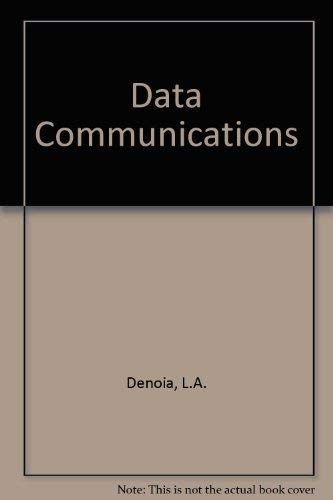 9780675203685: Data Communication: Fundamentals and Applications (The Merrill series in computer information systems)