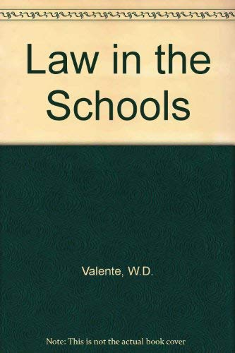 9780675203999: Law in the Schools