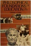 9780675204583: Philosophical Foundations of Education