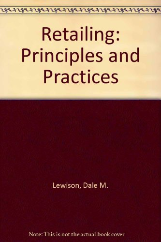 9780675204743: Retailing: Principles and Practices