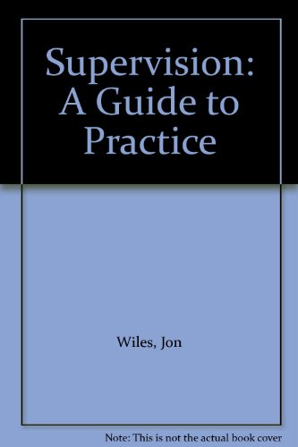 9780675204859: Supervision: A Guide to Practice