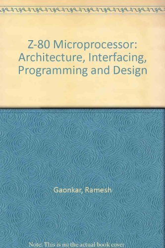 9780675205405: Z-80 Microprocessor: Architecture, Interfacing, Programming and Design