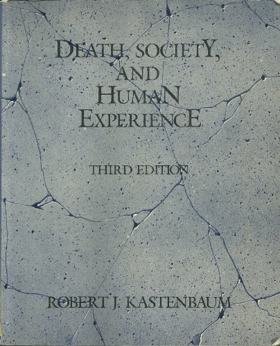 9780675205696: Death, Society and Human Experience