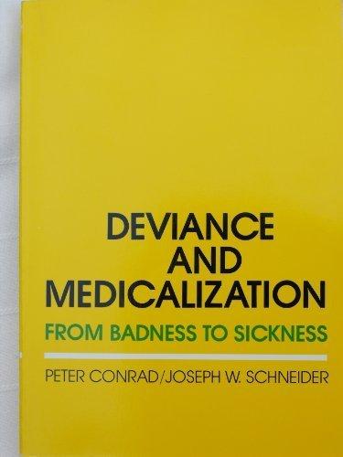 9780675206082: Deviance and Medicalization