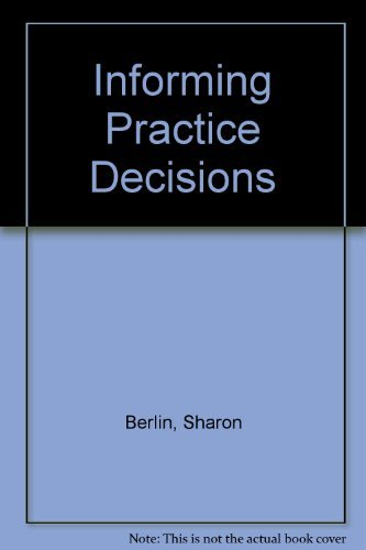 9780675206280: Informing Practice Decisions