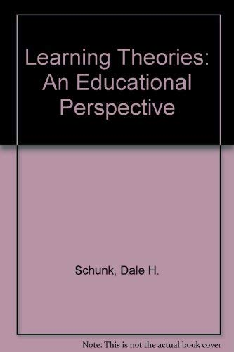 9780675206440: Learning Theories: An Educational Perspective