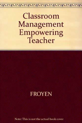 9780675207843: Classroom Management: Empowering Teacher-Leaders