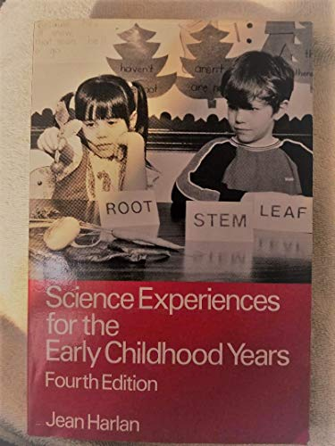 9780675208727: Science Experiences for the Early Childhood Years