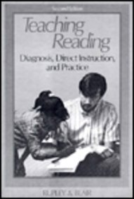 9780675208918: Teaching Reading: Diagnosis, Direct Instruction, and Practice (2nd Edition)