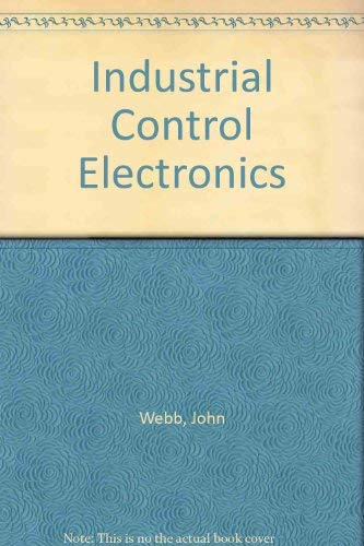 9780675208970: Industrial Control Electronics