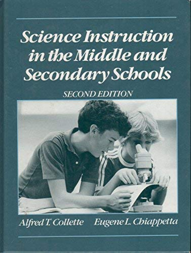 9780675209335: Science Instruction in the Middle and Secondary Schools