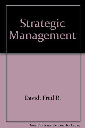 9780675209380: Strategic Management