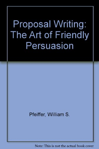 9780675209885: Proposal Writing: The Art of Friendly Persuasion