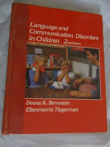 9780675210058: Language and Communication Disorders in Children