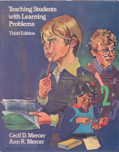 9780675210270: Teaching Students with Learning Problems