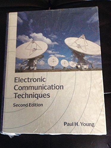 9780675210454: Electronic Communication Techniques