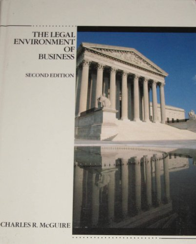 9780675210676: The Legal Environment of Business