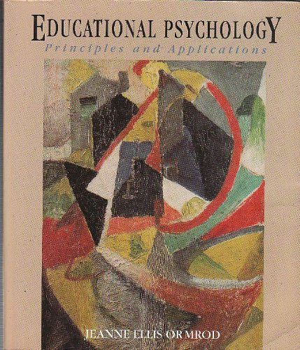 9780675210867: Educational Psychology: Principles & Applications
