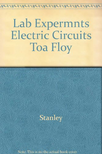9780675210881: Experiments in Electric Circuits
