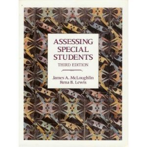 9780675211161: Assessing Special Students