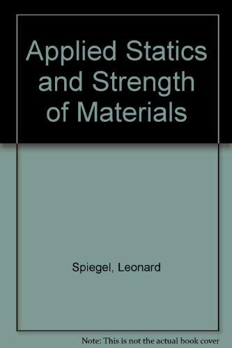 9780675211239: Applied Statics and Strength of Materials