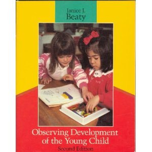 9780675211406: Observing Development of the Young Child