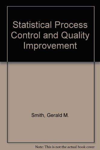 9780675211604: Statistical Process Control and Quality Improvement
