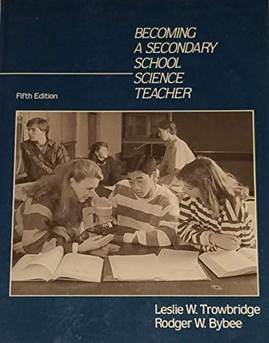 9780675211666: Becoming a Secondary School Science Teacher