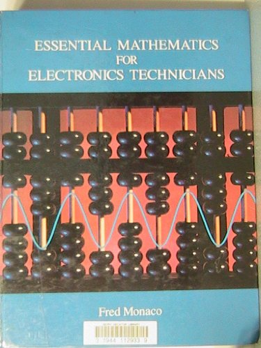 9780675211727: Essential Mathematics for Electronics Technicians
