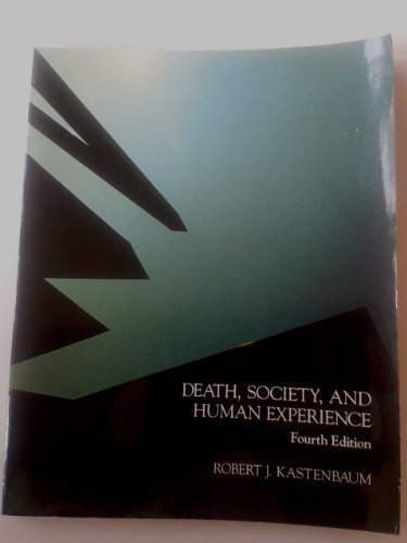 9780675211895: Death, Society, and Human Experience
