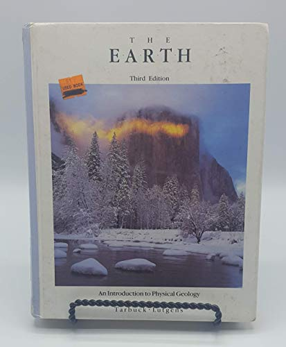 9780675212052: The Earth: An Introduction to Physical Geology