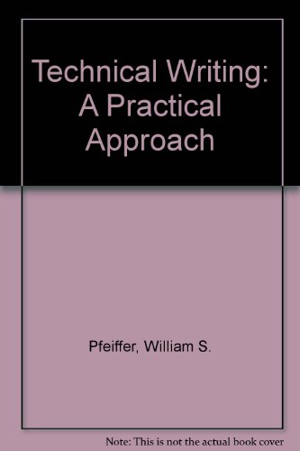 9780675212212: Technical Writing: A Practical Approach
