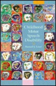 9780675212281: Childhood Motor Speech Disabilities