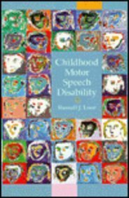 9780675212281: Childhood Motor Speech Disability