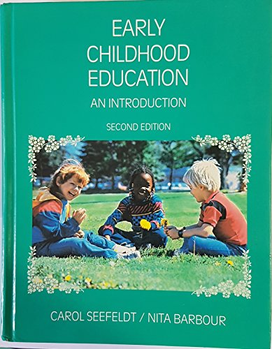 9780675212441: Early Childhood Education: An Introduction