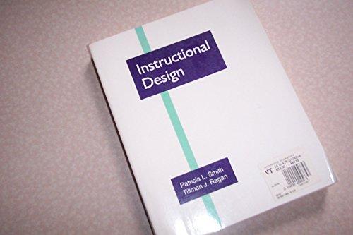9780675212625 Instructional Design Abebooks Smith Patricia L Ragan Tillman J 0675212626