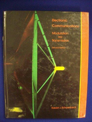 9780675213110: Electronic Communications: Modulation and Transmission (2nd Edition)