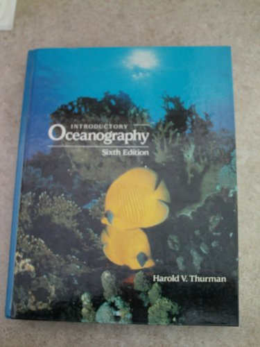 9780675213172: Introductory Oceanography