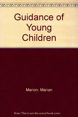 9780675213196: Guidance of Young Children