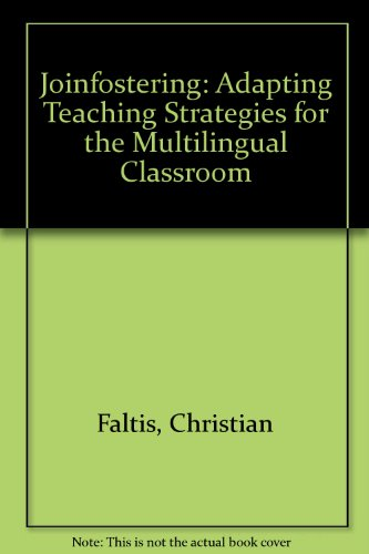 9780675213264: Joinfostering : Adapting Teaching Strategies for the Multilingual Classrooms