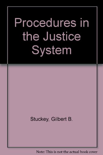 9780675213523: Procedures in the Justice System