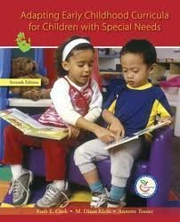 9780675213561: Adapting Early Childhood Curricula for Children With Special Needs
