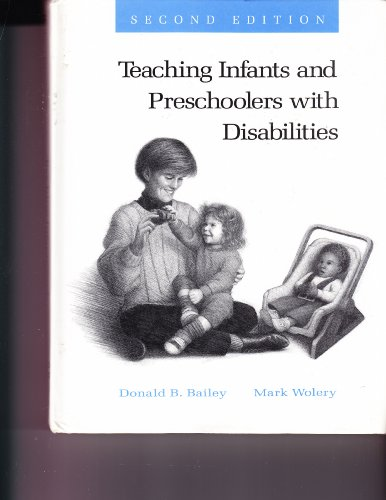 9780675213905: Teaching Infants and Preschoolers With Disabilities