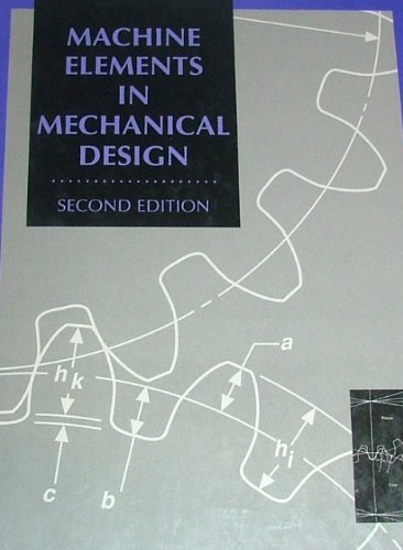 9780675222891: Machine Elements in Mechanical Design (Merrill's International Series in Engineering Technology)