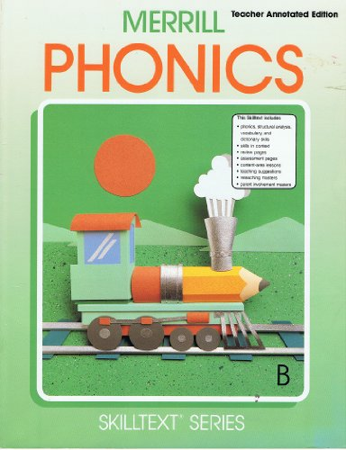 Merrill Phonics B Teacher Annotated Edition (Merrill: Mary Lou Maples,
